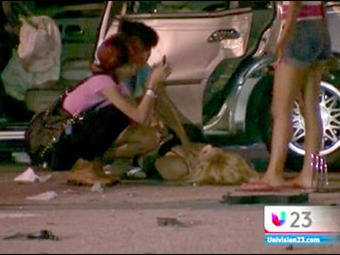 Conflicto familiar termina en violento accidente en Miami