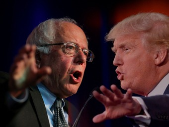 Donald Trump y Bernie Sanders vencen en New Hampshire