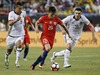 Chile vence 2-0 a Colombia; otra final con Argentina